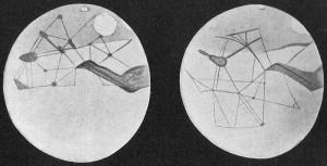 Marskanäle nach Percival Lowell