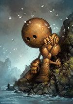 Steampunk Robot by Matt Dixon